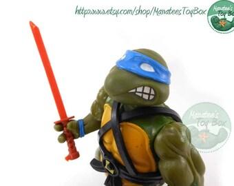 TMNT Action Figure: Original Leonardo 1988 Soft Head