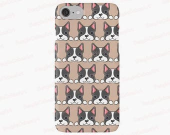 Boston Terrier Phone Case, Case for iPhone 7, 6, 5, Case for Samsung Galaxy, Dog Phone Case, Puppy Phone Case, Animal Phone Case, Dog Gift