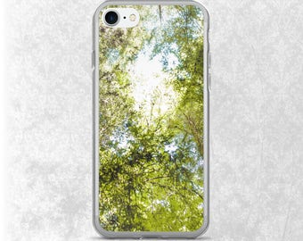 Trees iPhone 7 Case, Forest Phone Case, Canopy of Redwoods Galaxy S7 Case, iPhone 6 Case, Samsung Case, Nature iPhone Case, Galaxy S6 Case