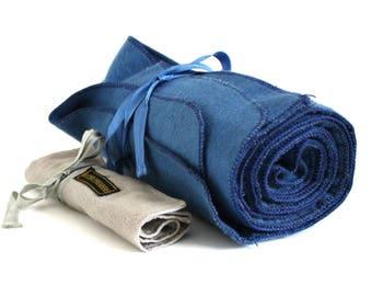 Silverware Storage Pouches Anti Tarnish Silvercloth Felt Rolls Silver Cloth Pocket
