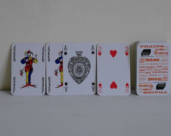 National Railway Museum - Trains - Playing Cards - Complete