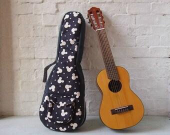 Concert ukulele  - Cotton canvas ukulele case (Ready to ship)