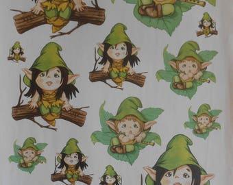 Pixie Paper Decoupage Decopatch Collage Sheet Mixed Pixie