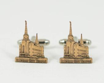 Brigham City Temple Cufflinks