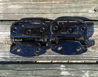 2 Vintage Stanley Heavy Duty Steel Chest Handles, Stanley Trunk Handle,  Steamer Trunk Handle, Hardware Large Drawer Pull