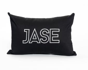 Personalized Children's Name Pillow | Custom | Monogram | Text | Accent Pillow | Throw Pillow | Children's Decor | Nursery | Baby Gift