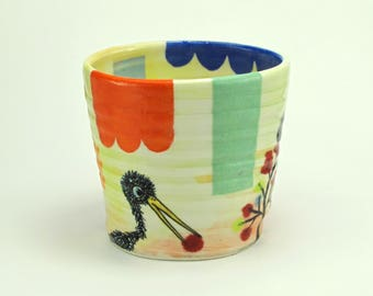 Patchwork Girl Tumbler
