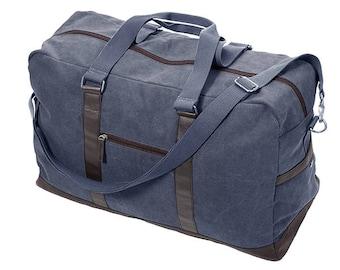 Men's Monogrammed Duffle Bag, Men's Travel Bag, Overnight Bag, Men's Canves Bag,Groomsmen Gifts