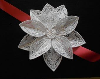 Poinsettia Holiday Decoration