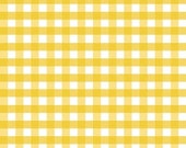 Yellow and White Gingham Tablerunners