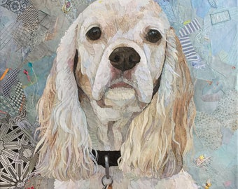 Custom Collage Pet Portrait