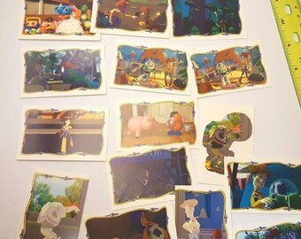 Toy Story 90s Panini Sticker Book Stickers (10 pc mixed)