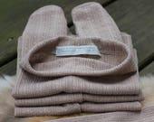 ready to ship, newborn photography prop, striped newborn pants brown taupe, newborn baby boy prop, newborn stretchy pants prop
