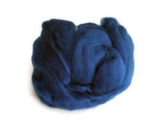 Pacific Blue Wool  Fleece Roving for Felting or Spinning Australian Fleece