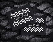 Twin Peaks Punk Patch - Black, White