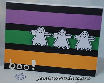 Boo Halloween Card