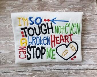 Chd awareness heart warrior shirt