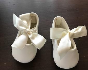 "Sweet Baby Girl Crib Shoes, size ""0"""