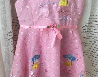 Appliqued Baby Dress, 2T