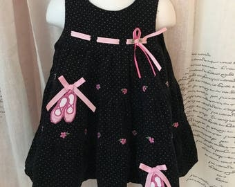 Rare Editions Girls Corduroy Dress, 18 mos.