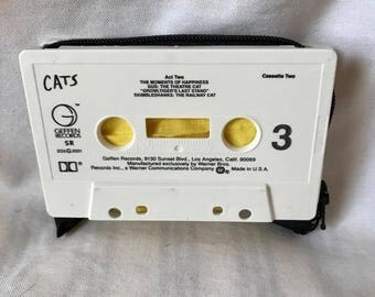 Cats Musical Play Cassette Tape Wallet