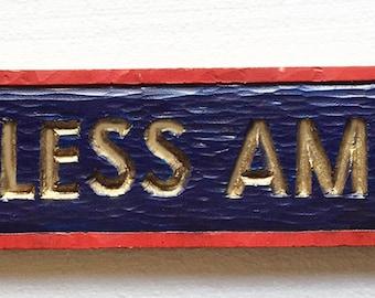 God Bless America Wall Door Topper
