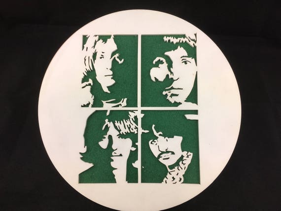 The Fab Four wall art. FREE SHIPPING Australia Wide.  The Beatles