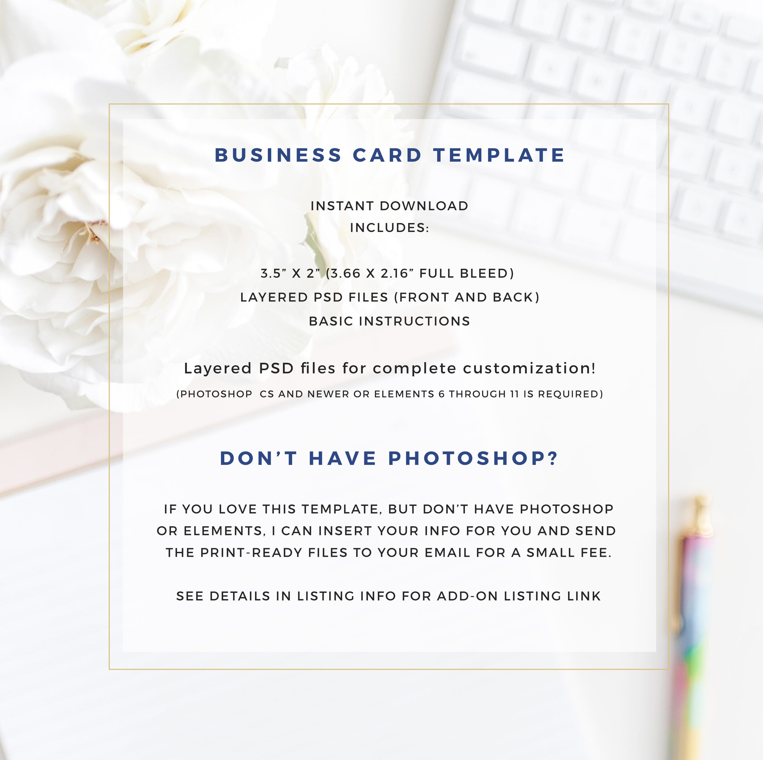 Business card template blush and gold moo template gold foil business card template blush and gold moo template gold foil template photoshop magicingreecefo Choice Image