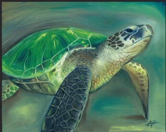 Sea Turtle- Keep your head up