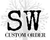 Custom anchor cuff links