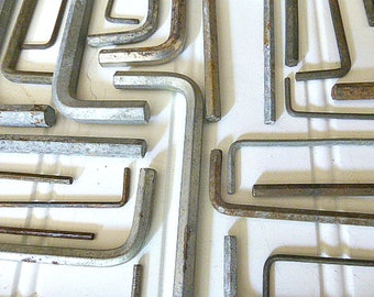 Collection Of Twenty- Nine Allen Wrenches  Hex Keys  Hand Tools