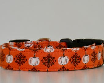 Halloween Dog Collar Pumpkin Made To Order