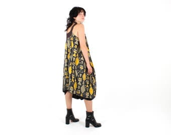 PAM Perks & Mini Tent Trapeze GAUZE Floaty Loose Relaxed Free Size Dress