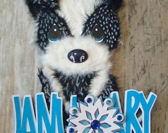 Holiday Tear Bear Puppies premade4u Cardmaking, Scrapbooking, U pick Marystearbears