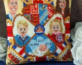 The Cambridge Family Mini Cushion Cross Stitch Kit