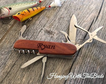 Personalized Knife,Fishing Knife,Hunting Knife,Engraved Knife, Pocket knife, Groomsmen Gift,Best Man Gift, Holiday gifts, Christmas gifts