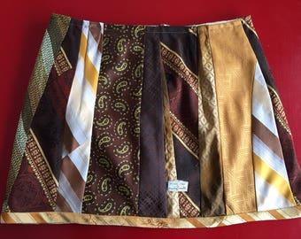Necktie skirt