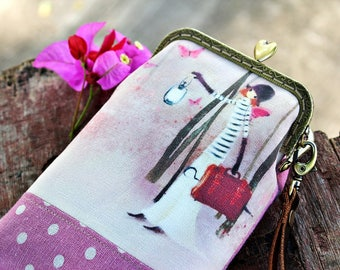 Cell phone case, Eyeglass case, iPhone 6 Plus, Galaxy note