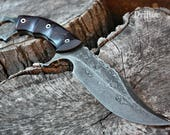 "Handcrafted FOF ""Drifter"", survival ring blade"