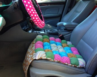 Custom Padded Steering Wheel Cover