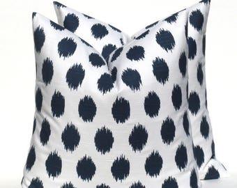 15% Off Sale Blue Pillow covers hrow pillow Cover - Pillows - Decorative Pillow - Navy Pillow - Ikat Pillow - Sofa pillow - Cushion Covers -