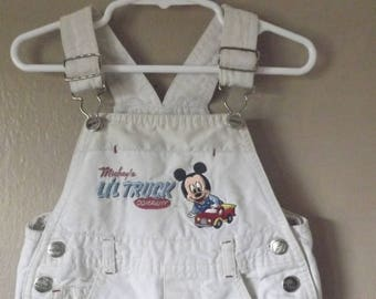 Baby Boys Size 18 Months Disney's Mickey Mouse Overall Dungarees Overalls, Baby Boy Clothes, Kids Clothes