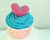 Bubble Bar, Bath Bomb, Cupcake, Bubble Bars, Bath Bombs, Cupcake Bath, Coconut Berry, Birthday Favors, Party Favors, Wholesale Bath Bombs