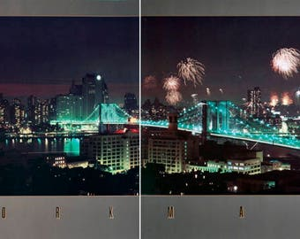 Jay Maisel-New York (Diptych)-1984 Poster