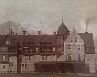 The Antlers Hotel Antique 1800s Photo Colorado Springs, CO