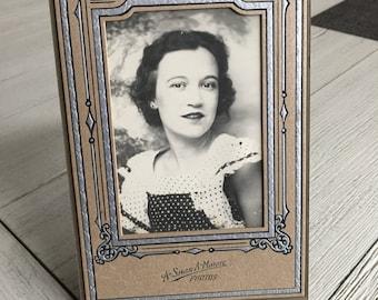 Polka Dot Cutie Vintage Photo A-Smile-A-Minute