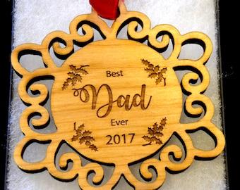 dad ornament, papa gift