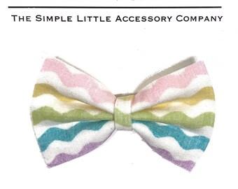 Easter Egg Big Pinch Bow- wig clio, snap clip or nylon headband