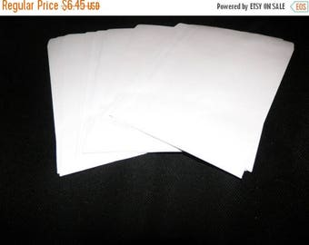 On Sale White Paper Merchandise Bags, Flat Retail Bags size 5x7 ,100 Kraft Bags, Party Retail Kraft Wedding Paper Bags