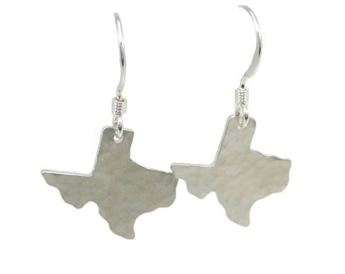 Texas Charm Earrings - Silver and Gold